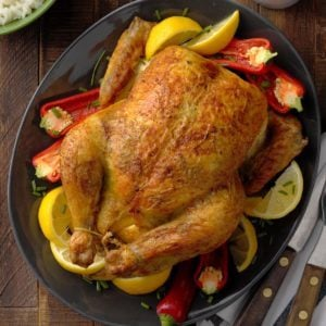 Curry-Rubbed Roast Chicken