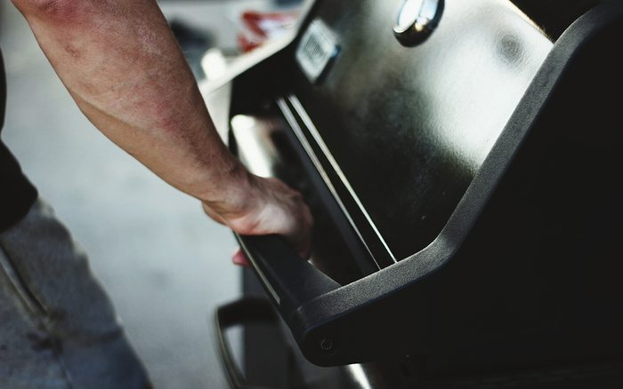 Close-Up Of Man Working
