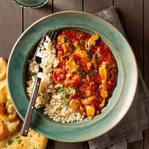 Pressure-Cooker Chicken Curry