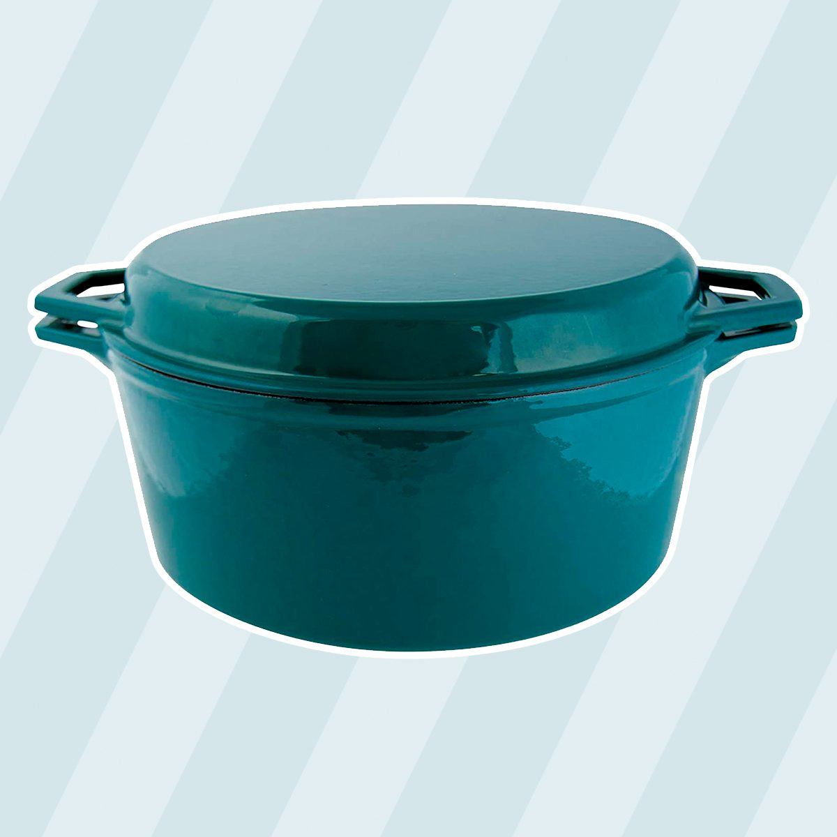 Multipurpose: Taste of Home's Dutch Oven with Grill Lid