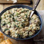 Mushroom & Spinach Risotto