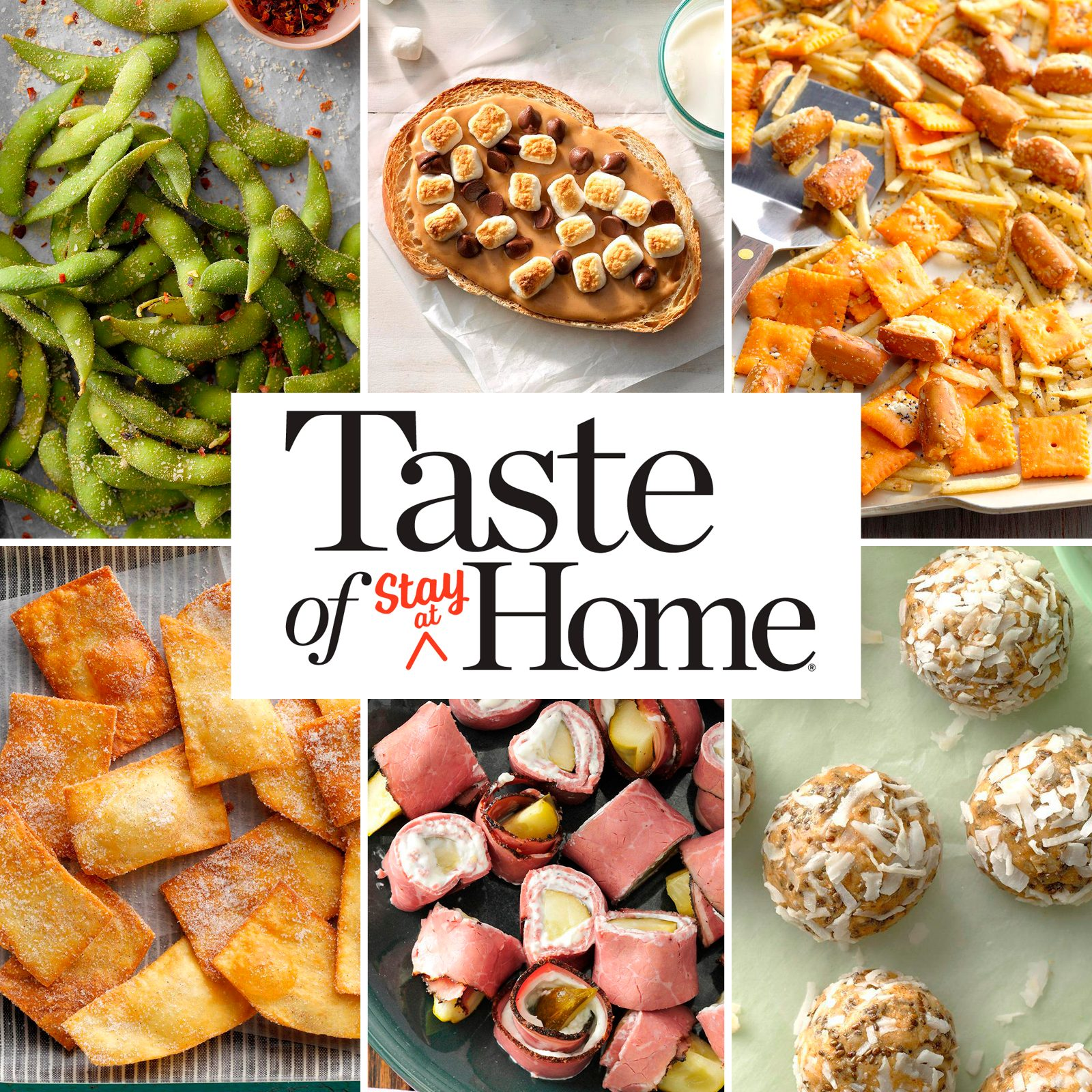 Our 50 Favorite Stay-at-Home Snacks