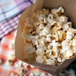 How to Make Paper Bag Popcorn, Step by Step