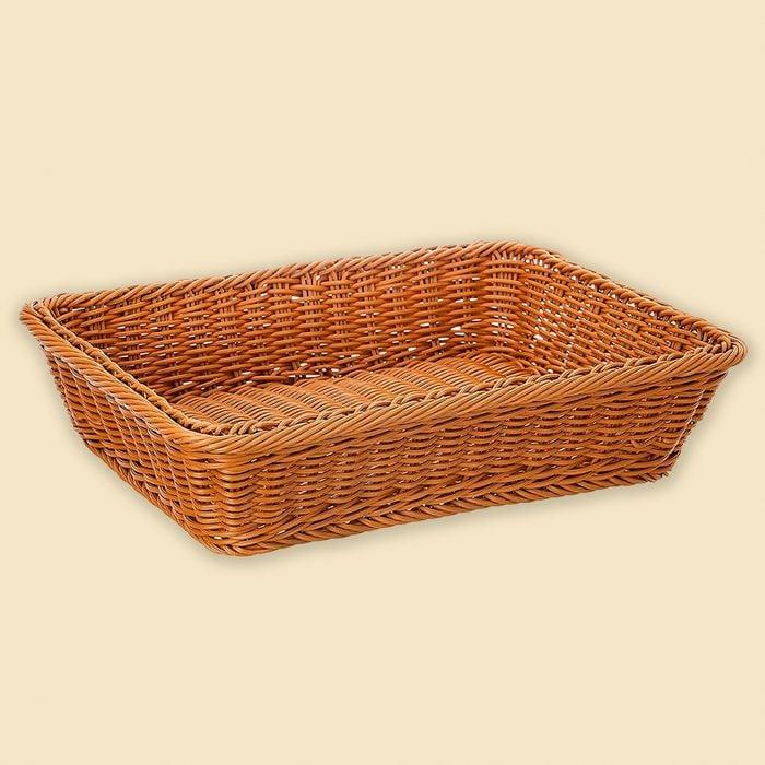 Poly-Wicker Bread Basket,