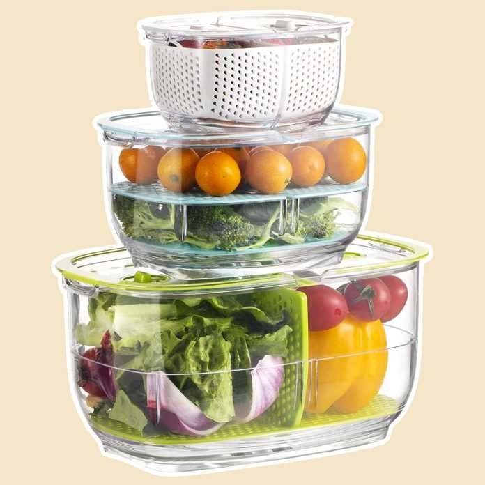 Produce Veggie Storage Containers