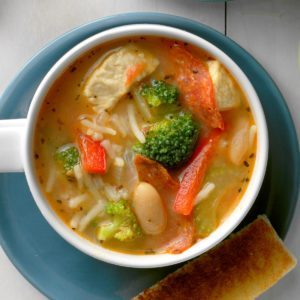 Quick Chicken Minestrone