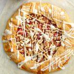Rustic Orange-Rhubarb Tart