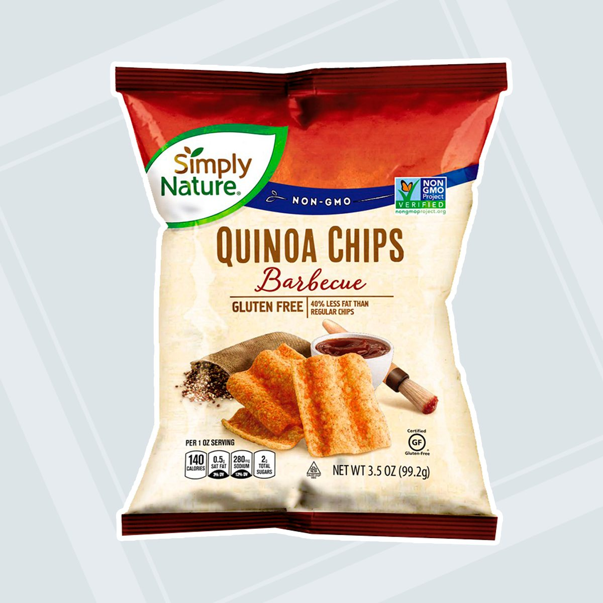 Simply Nature Quinoa Chips BBQ