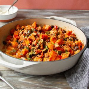 Chicken Sweet Potato Skillet