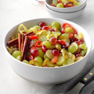 Spicy Pickled Grapes
