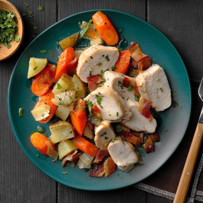 Turkey and Root Veggie Sheet-Pan Dinner