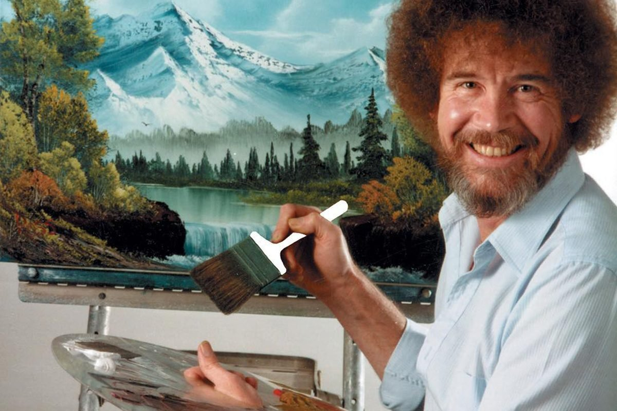"""You Can Stream Bob Ross' """"The Joy of Painting"""" for FREE Right Now!"""