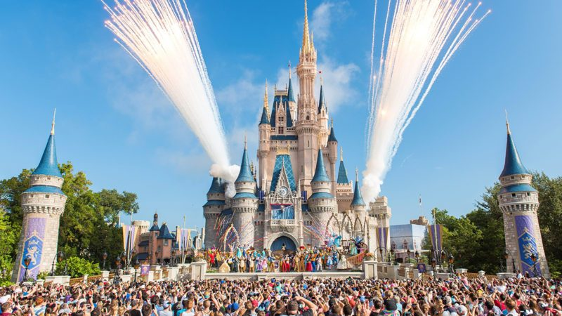 LAKE BUENA VISTA, FL - OCTOBER 01: Walt Disney World Resort marked its 45th anniversary on October 1, 2016 in Lake Buena Vista, Florida. (Photo by Jacqueline Nell/Disneyland Resort via Getty Images)