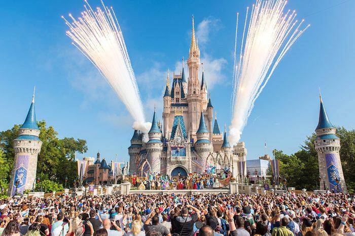 LAKE BUENA VISTA, FL - OCTOBER 01: Walt Disney World Resort marked its 45th anniversary on October 1, 2016 in Lake Buena Vista, Florida. (Photo by Jacqueline Nell/Disneyland Resort via Getty Images)