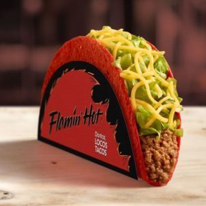 Taco Bell Is Selling a Flamin' Hot Doritos Locos Taco, and We're Already Placing Our Order