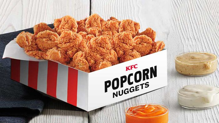 kfc 70 piece popcorn chicken