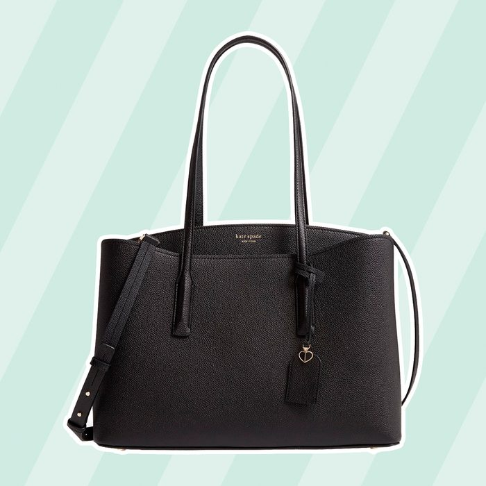 margaux large leather work tote