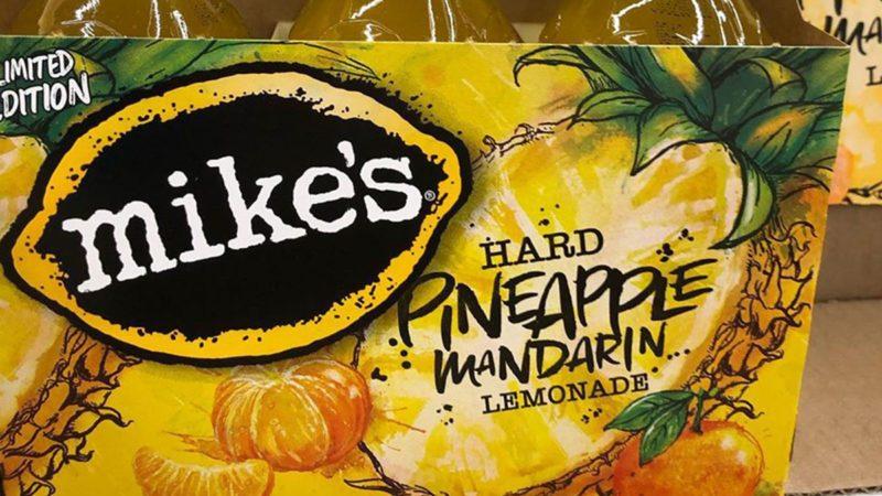mikes hard pineapple manderin lemonade