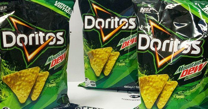 mountain dew doritios social