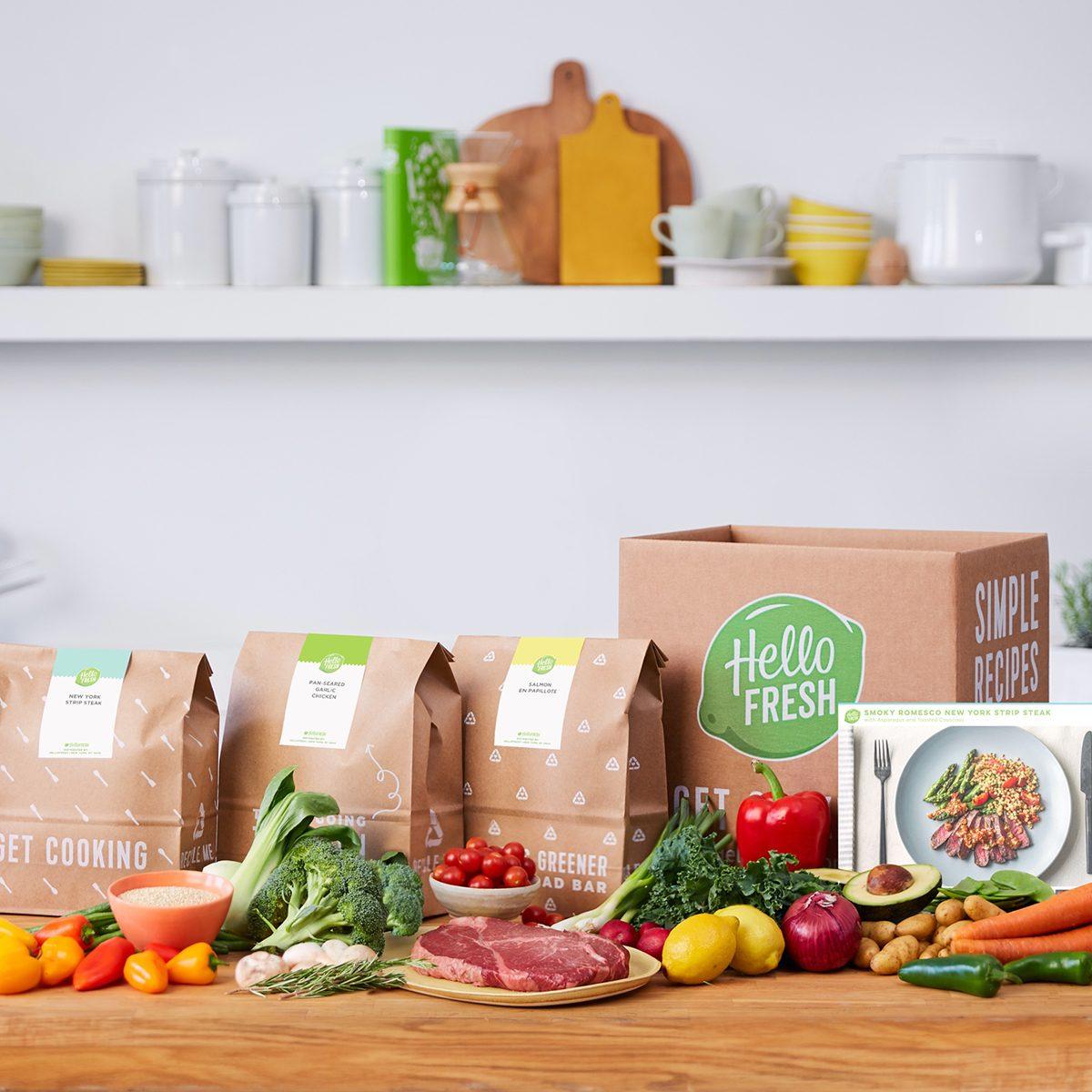 Hello Fresh meal kits