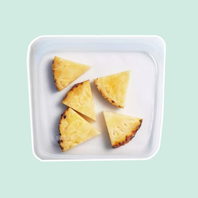 Stasher Reusable Clear Food Storage Sandwich Bag