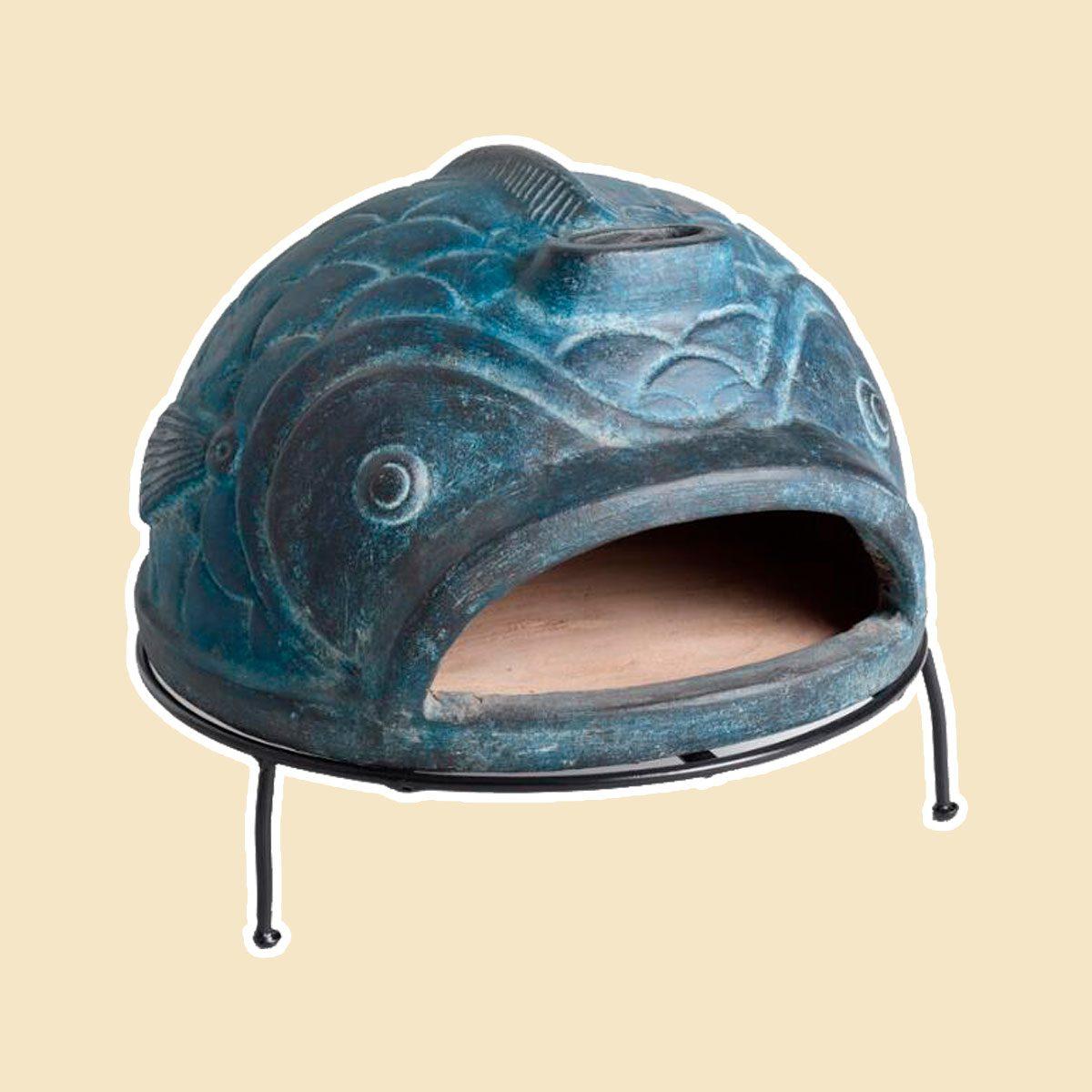 Blue Fish Terracotta Pizza Oven
