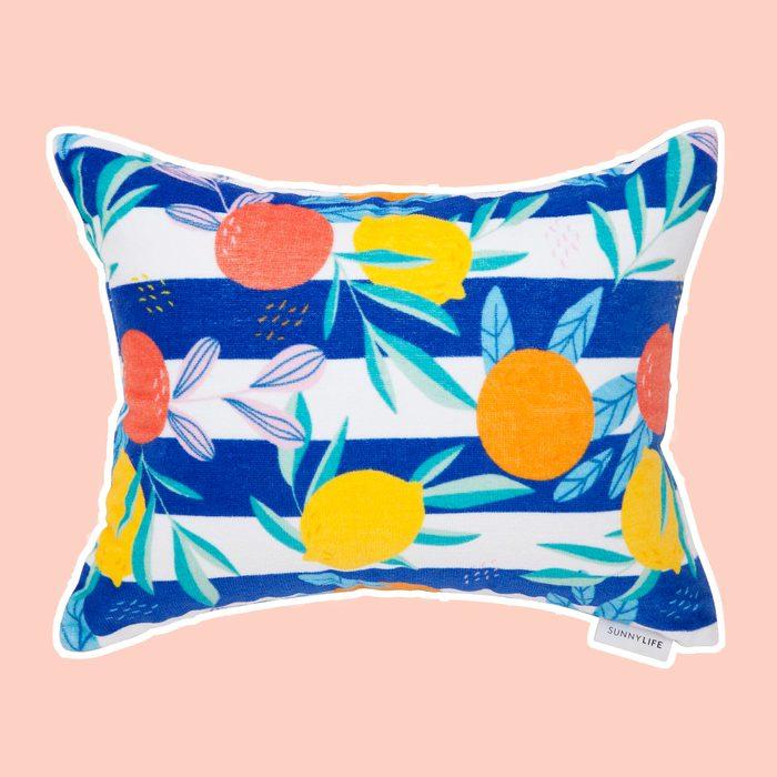 Citrus Beach Pillow