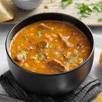 Comforting Barley & Pumpkin Beef Stew