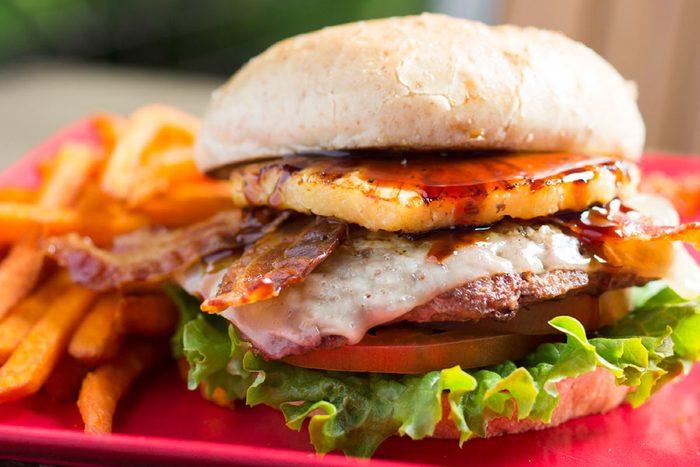 Disney Hawaiian Hamburger