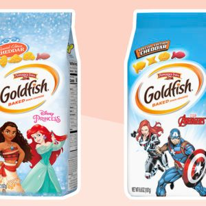 Goldfish Is Making Disney Princess Shapes Right Now, and We Love 'Em