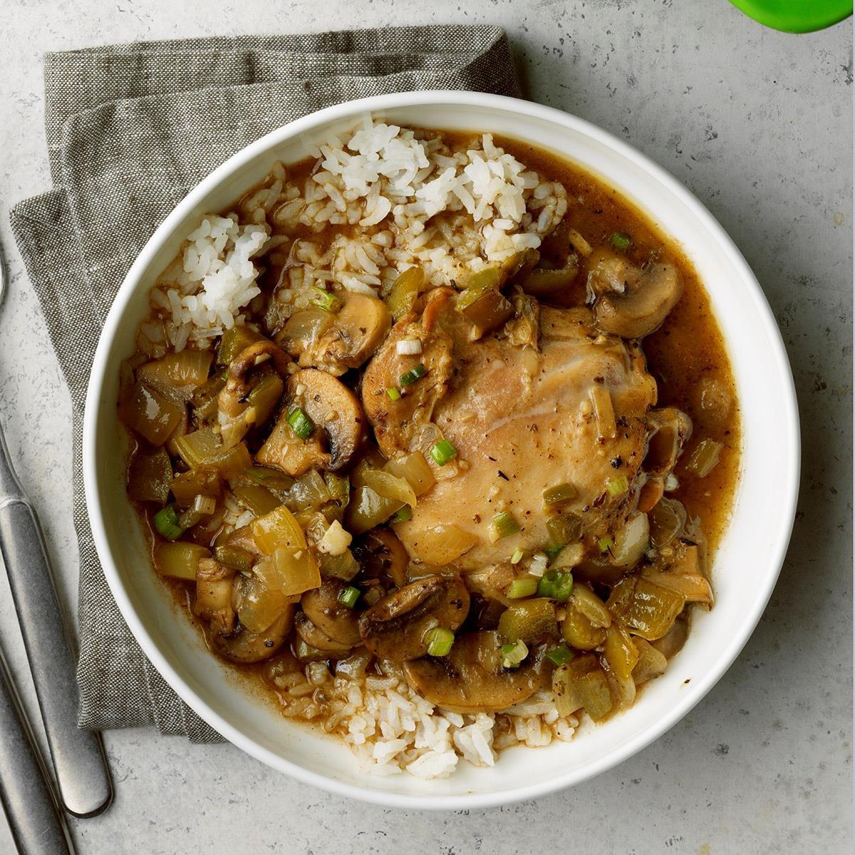 New Orleans-Style Stewed Chicken