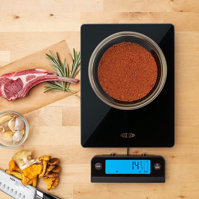OXO 11176800 Good Grips 11 Lb Glass Scale