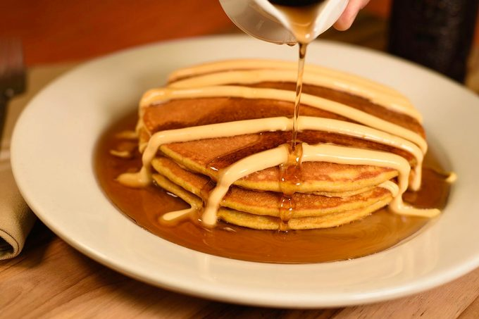 Disney Pumpkin Pancakes