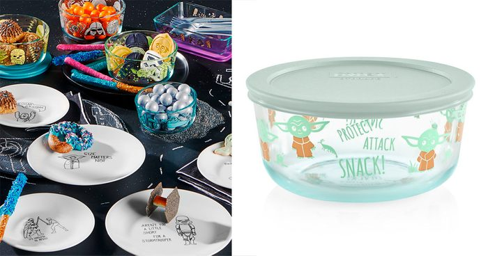 Pyrex and Corelle Star Wars Sets