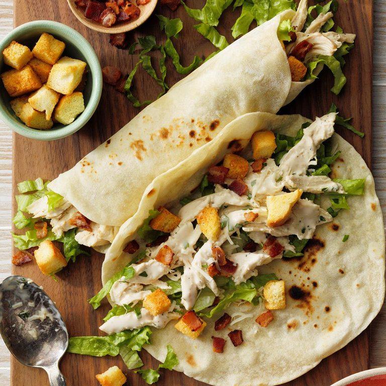 Slow Cooked Chicken Caesar Wraps Exps Scm2bz20 191086 E01 22 7b 5