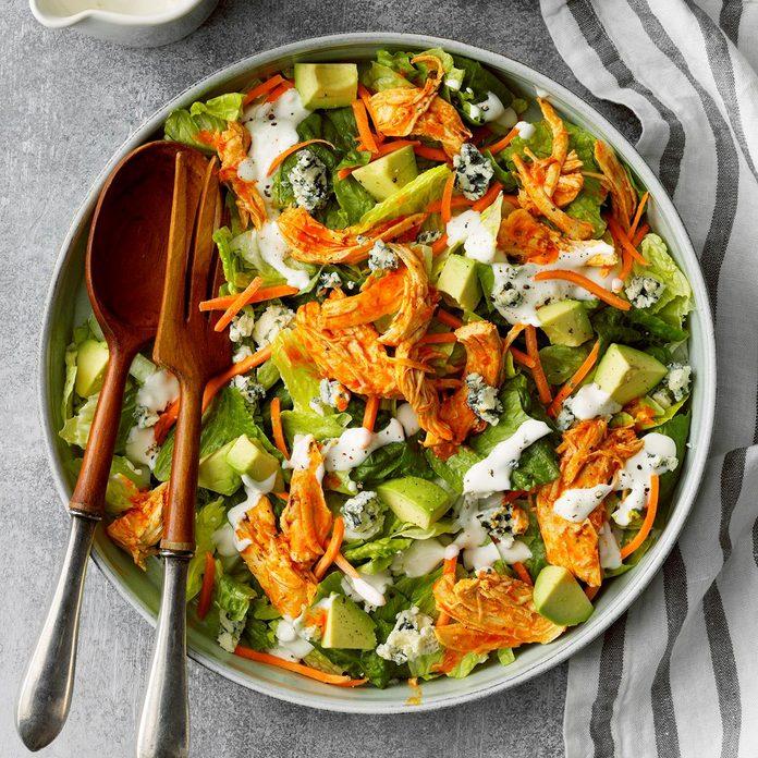Slow-Cooker Buffalo Chicken Salad