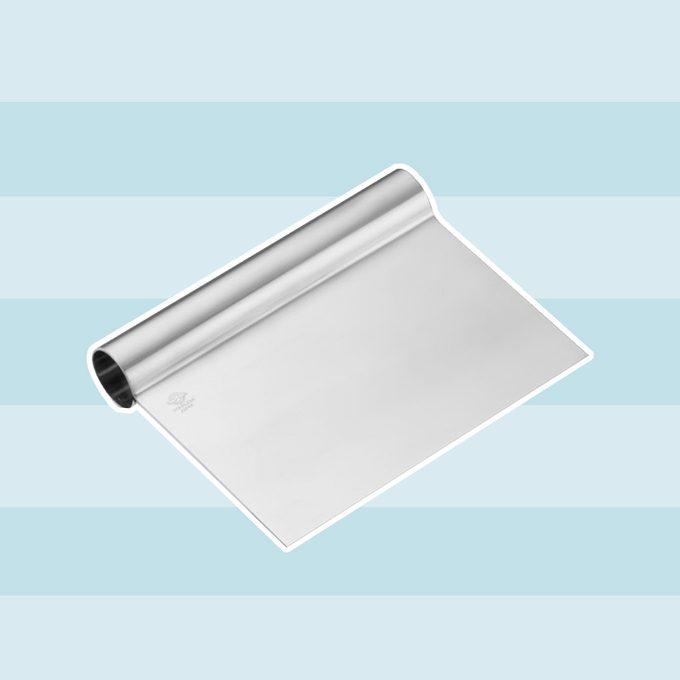 Stainless-Steel Pastry Scraper