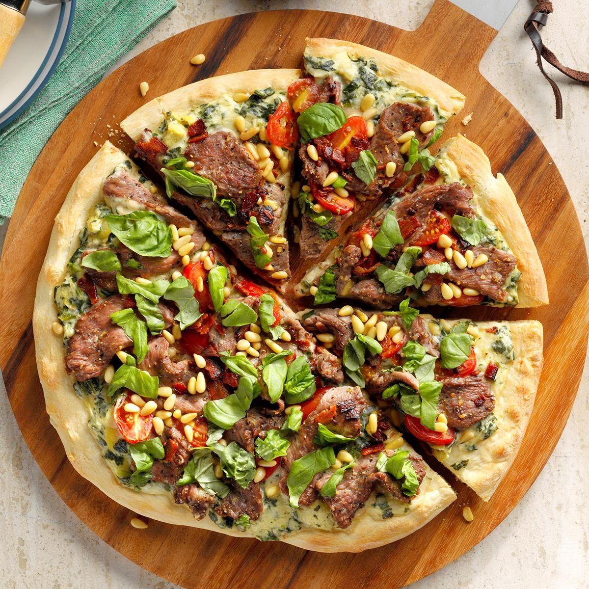 Steakhouse Pizza Recipe