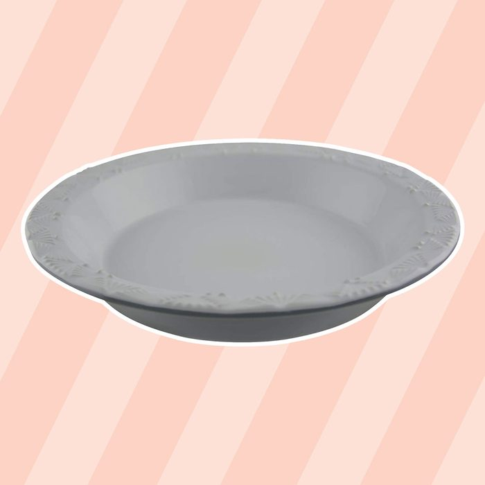 Taste of Home 9 x 1.5 inch Stoneware Pie Plate