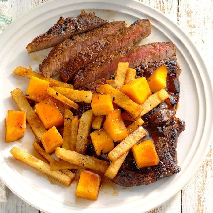 Triple Citrus Steaks With Jicama And Mango Exps Hedscodr20 238828 B03 12 3b 2