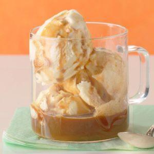 Vanilla Ice Cream with Espresso
