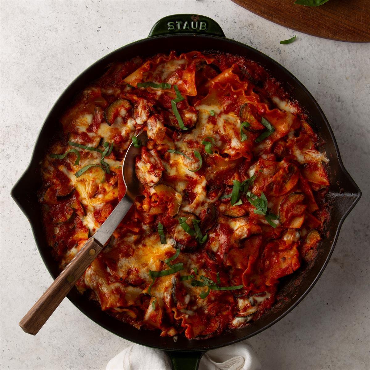 Vegetarian Skillet Lasagna