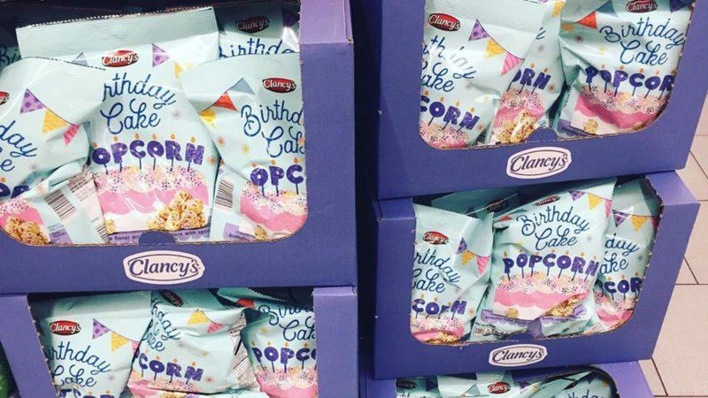 aldi birthday cake popcorn
