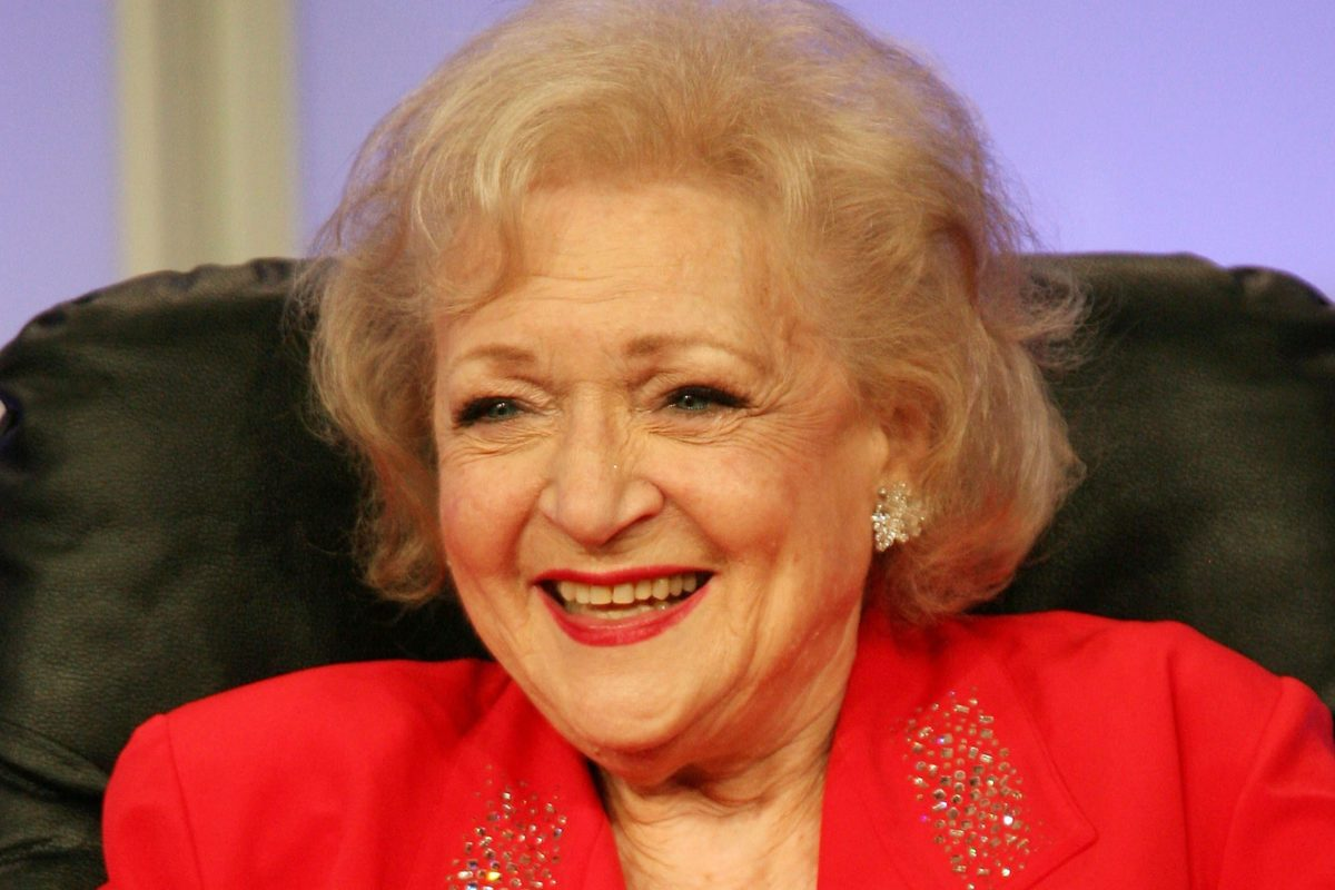 Betty White Is Starring in a Lifetime Christmas Movie and We Can't WAIT for Winter