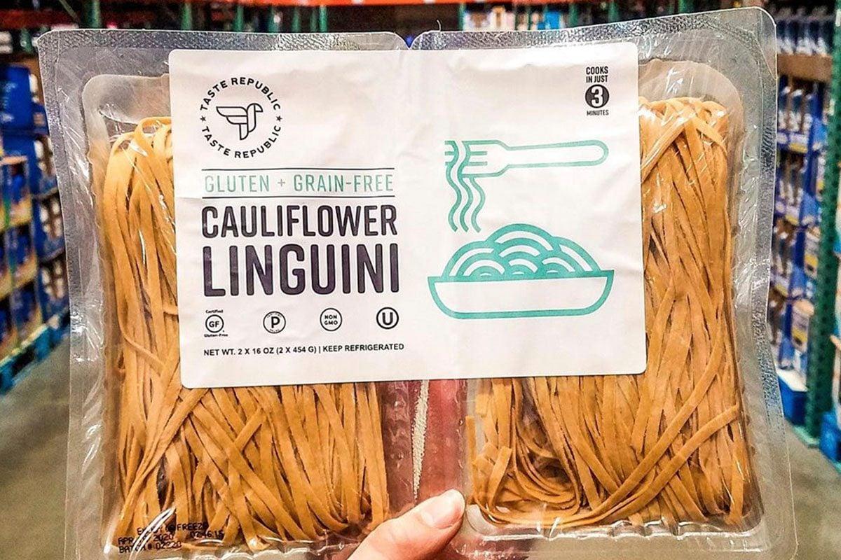Cauliflower linguini from Costco