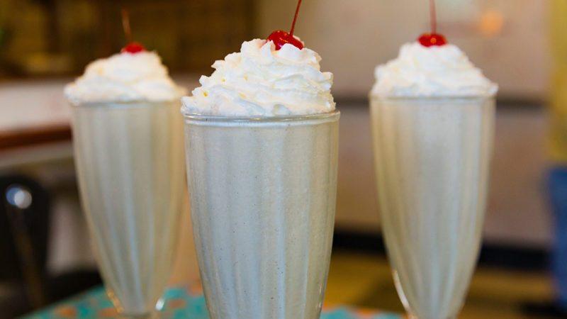 Disney milkshake