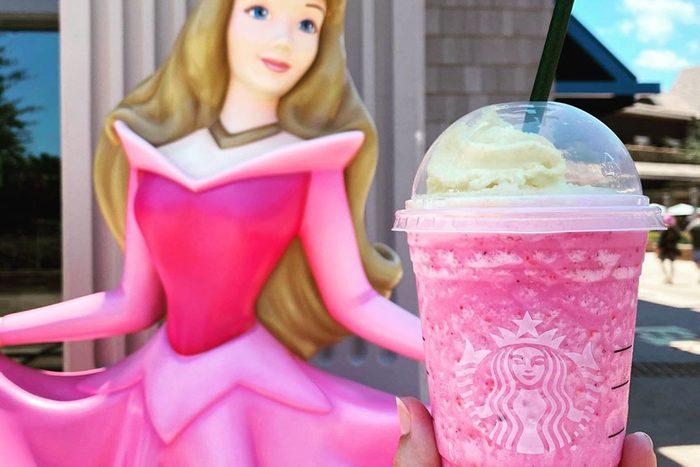 Disney Starbucks Palm Springs welcome back drink