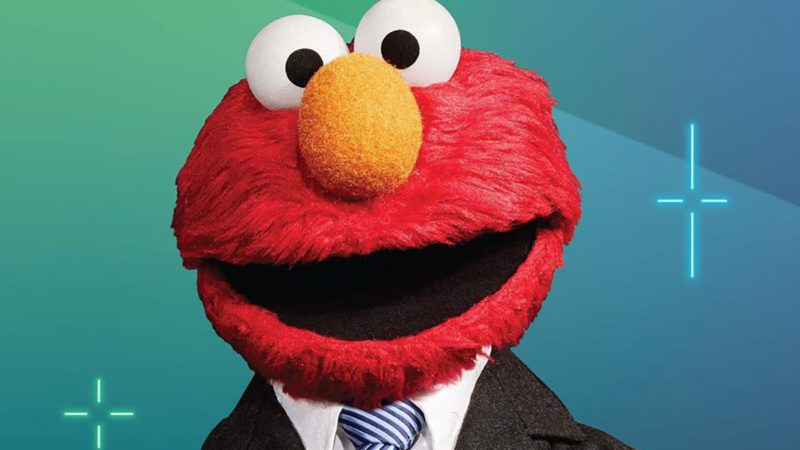 Elmo not too late show
