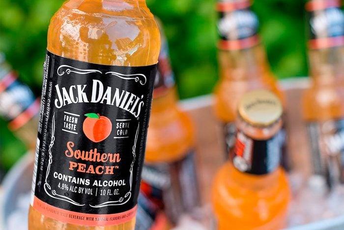 Jack Daniels southern peach whiskey