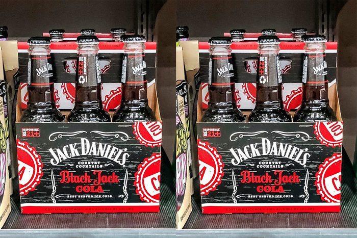 Jack Daniels jack and cola